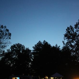 Night falls at New Belgium Clips