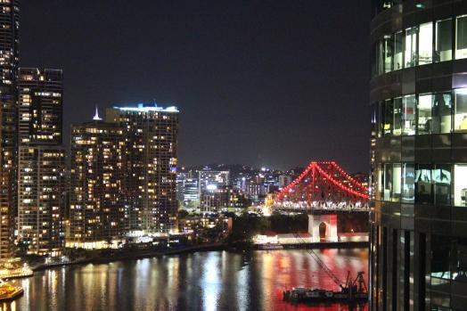 Story Bridge at Night